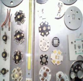 Single-sided aluminum plate
