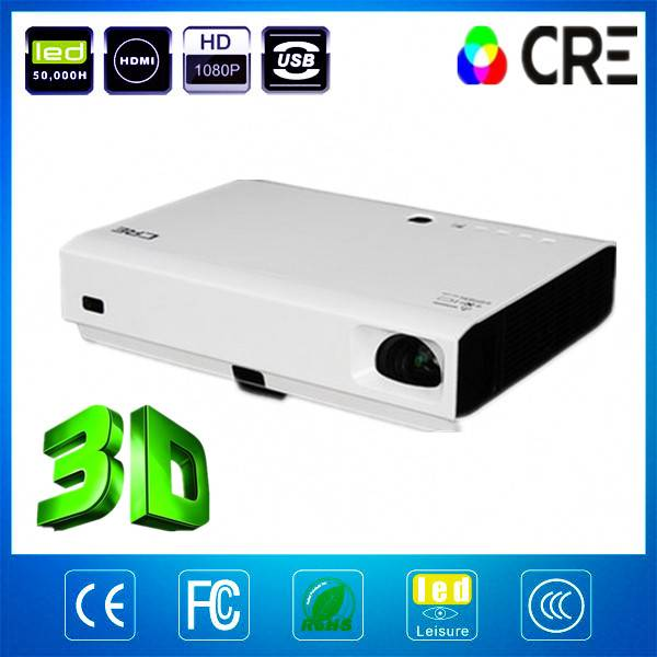 3D laser home cinema projector/ CRE X2500