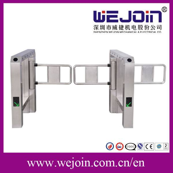 FRID automatic swing barrier , pedestrian access control gates, barrier gates