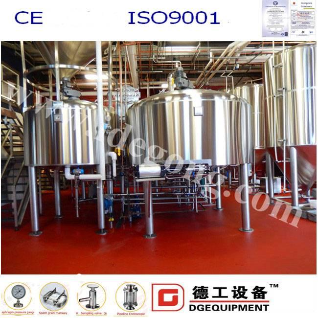 1000L/batch beer making machine