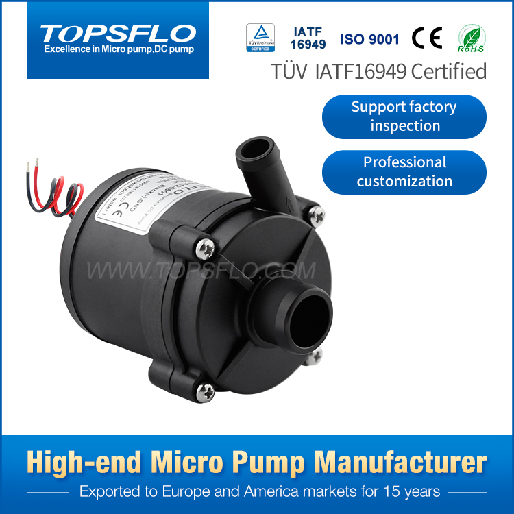 12V 24V DC Brushless Circulation water circulation system for hydroponic pump