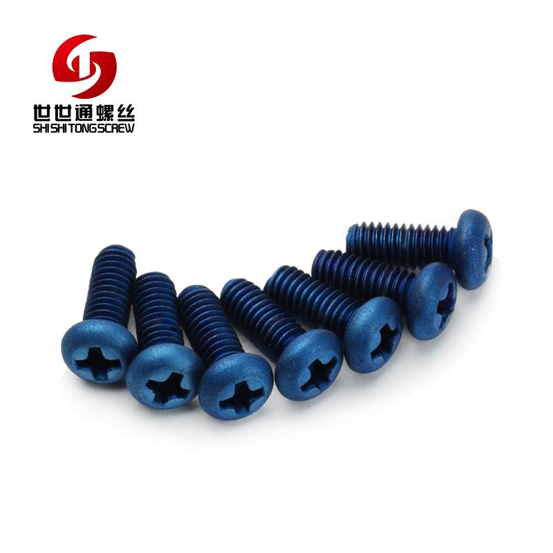 metric titanium screws