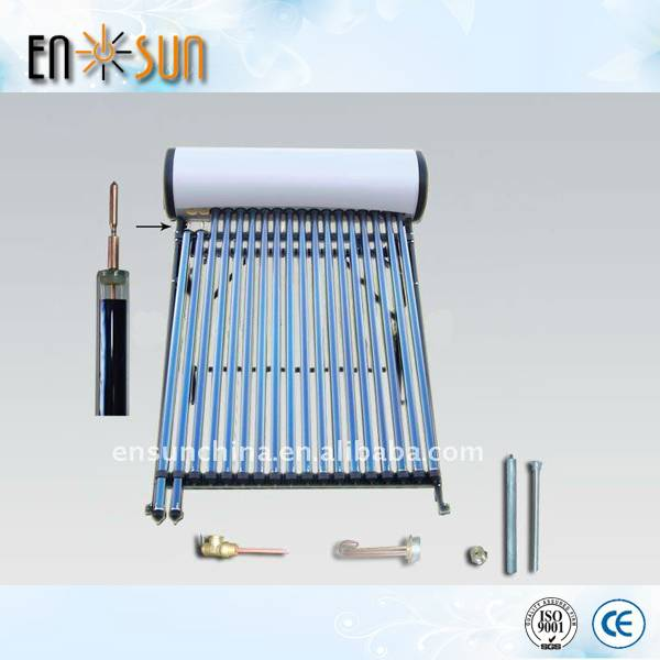 Solar system Integrate pressurized hot water heater galvanized steel made in China