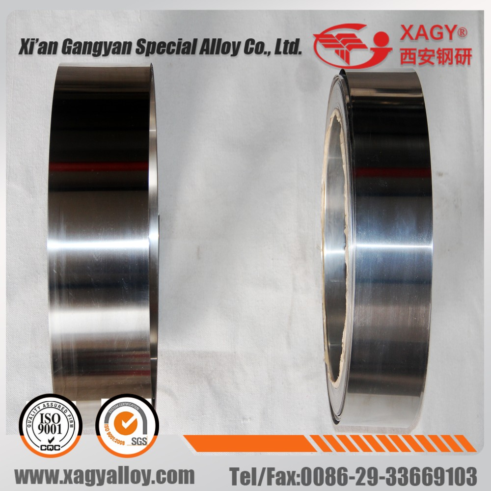 HiperCo50 1J22 AFK502 Soft magnetic alloy round bar supplier