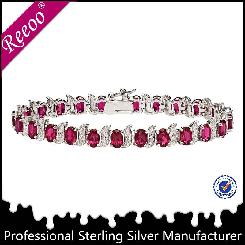 925 sterling silver women bracelet jewelry manufacturer