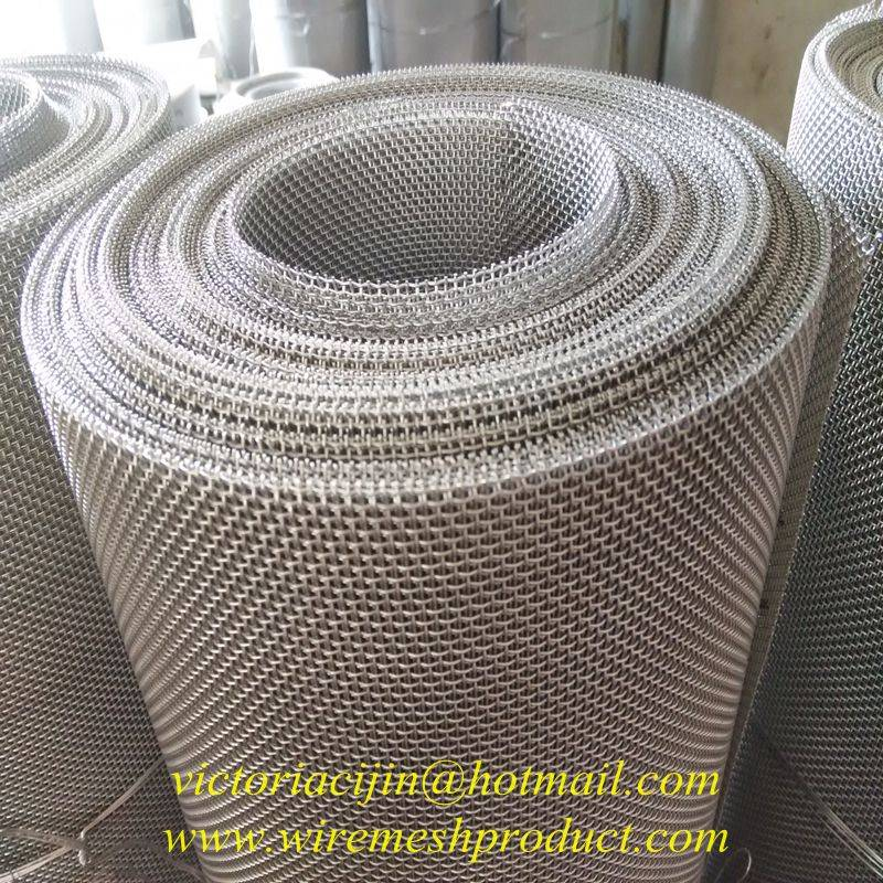 high quality stainless steel square opening wire mesh