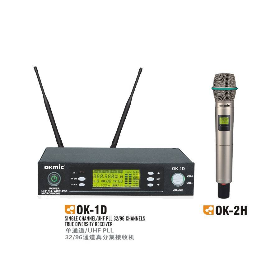 Pro UHF Ture Diversity Single Channel Wireless Microphone