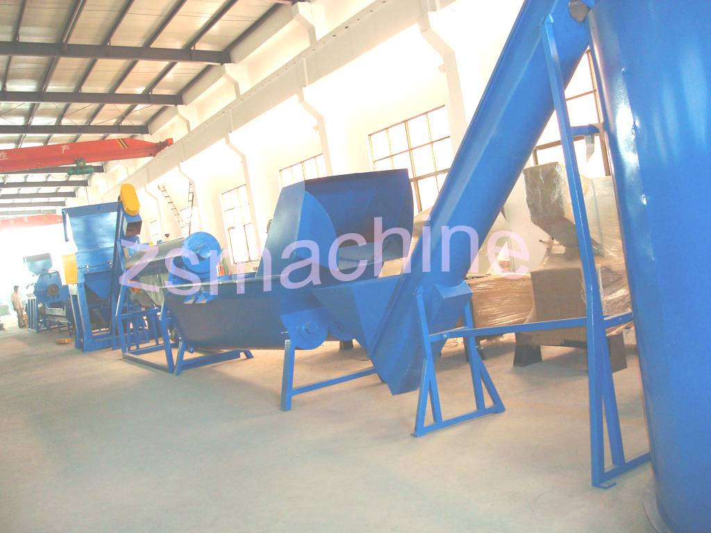 Waste Bottles Recycling Plant