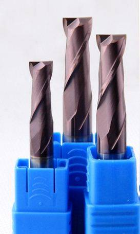 carbide milling cutting tools/square 2 flut/HRC60 D1~D4 x L50