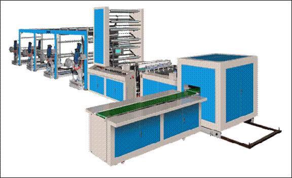 ZHJ-E1300 A4 Copy paper cutting machine