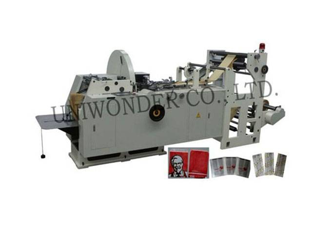 Full Automatic Multifunction Paper Bag Making Machine