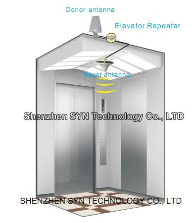 Wireless Elevator Repeater