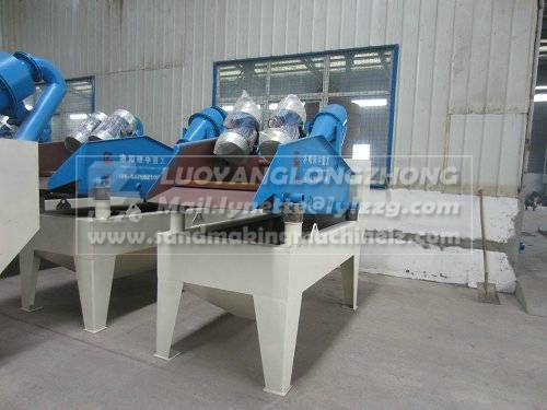 High vibrating sand recycling system, sand wash equipment