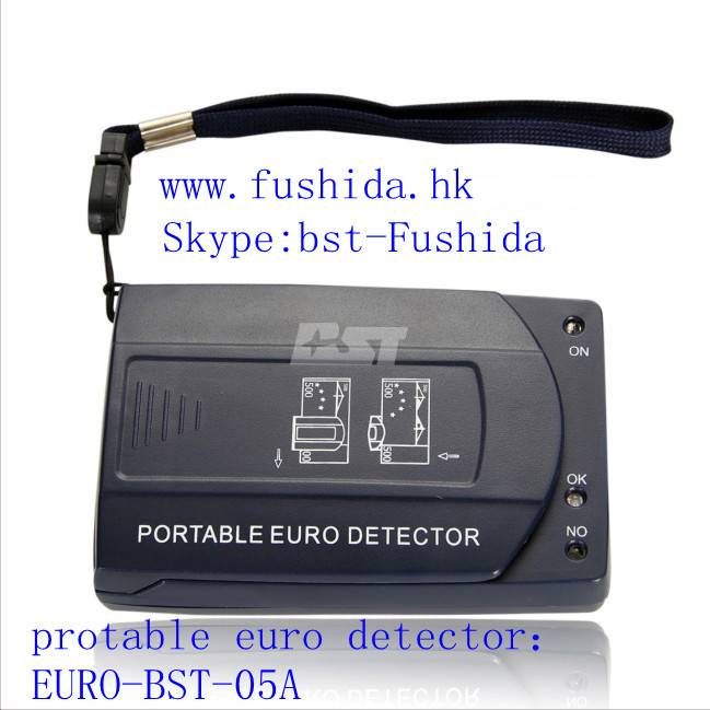 Counterfeit bill detectors,fake money detector,banknote detectors,skype:Bst-fushida