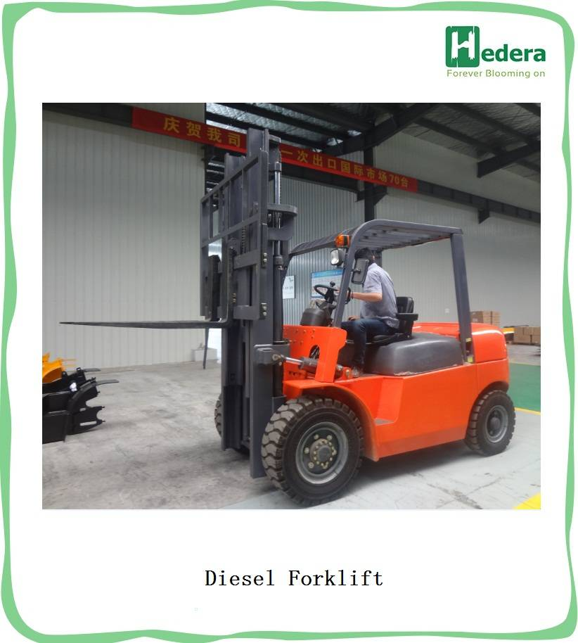 China 2T Diesel Forklift Truck For Sale
