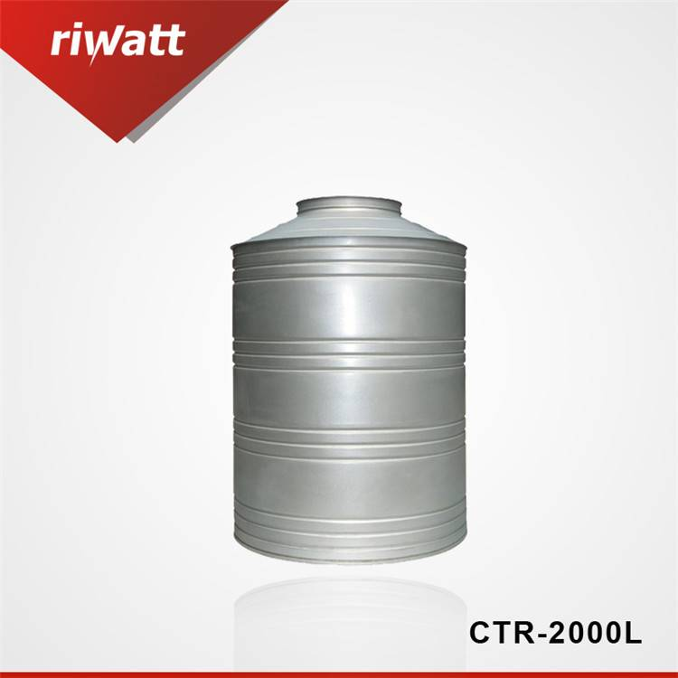 6000 liters solar project water tank