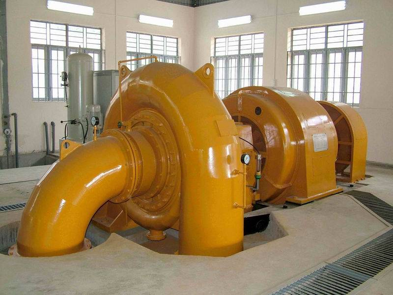 hydro turbine generator unit for water generating station francis mixed flow type