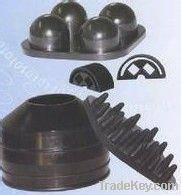 rubber corrugated diaphragm