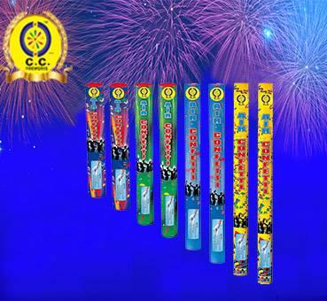 Beautiful Air Confetti Handheld Fireworks for Wedding, Birthday, Holiday, Festival Celebration