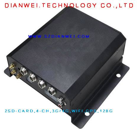 3G/4G. 4-CH. 2SD-CARD of Mobile DVR