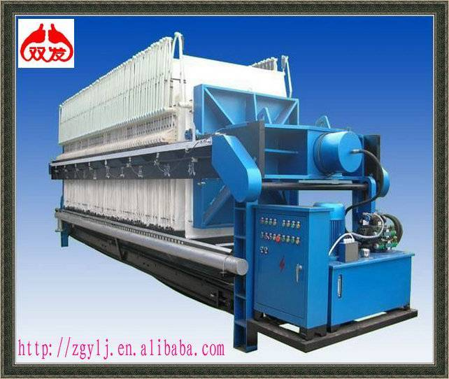 Automatically plate and frame filter press