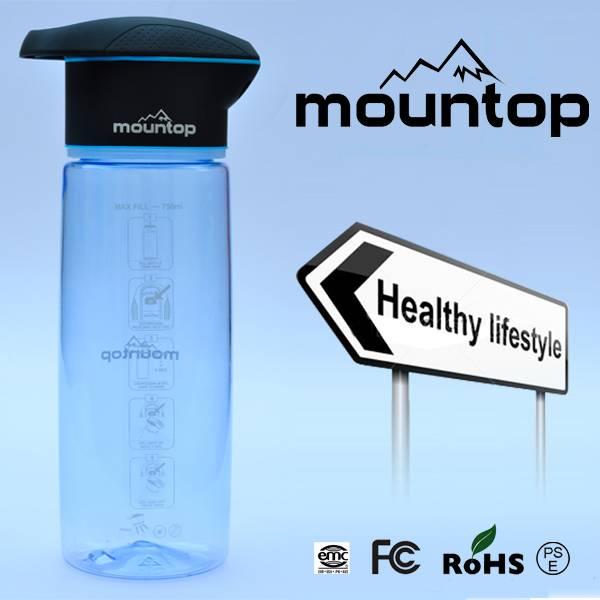 BPA free fruit infuser water bottle / travel water bottle / Fruit water bottle