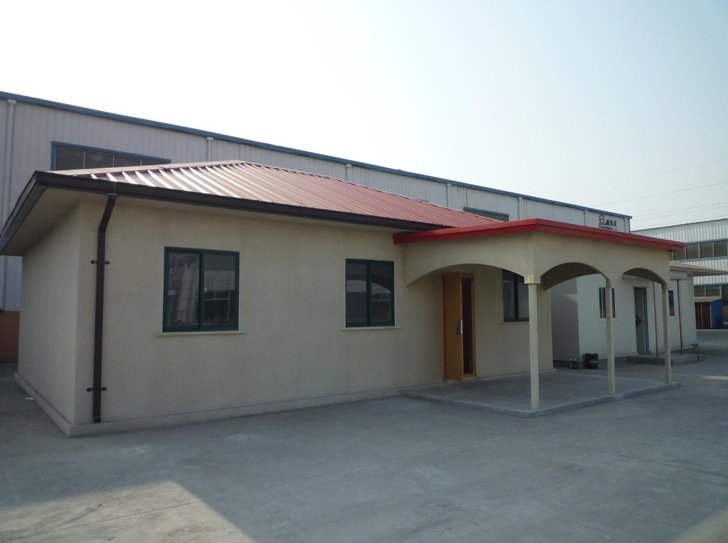 Villa for Temporary Building and Living Room