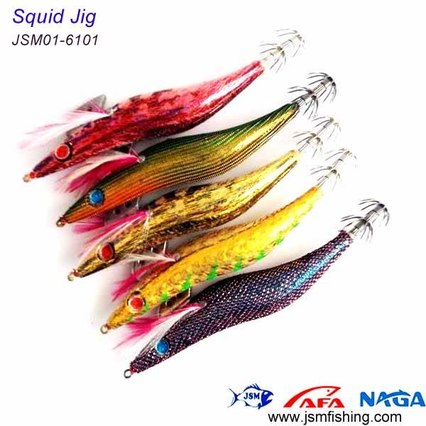 wholesale supply various fishing lure squid jig