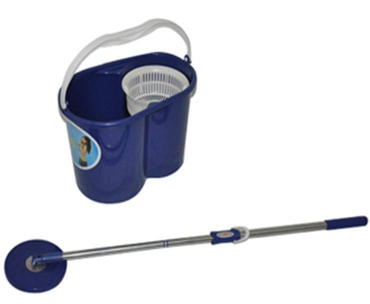 WholesaleHand pressed non-pedal double device spin mop-Cheapest