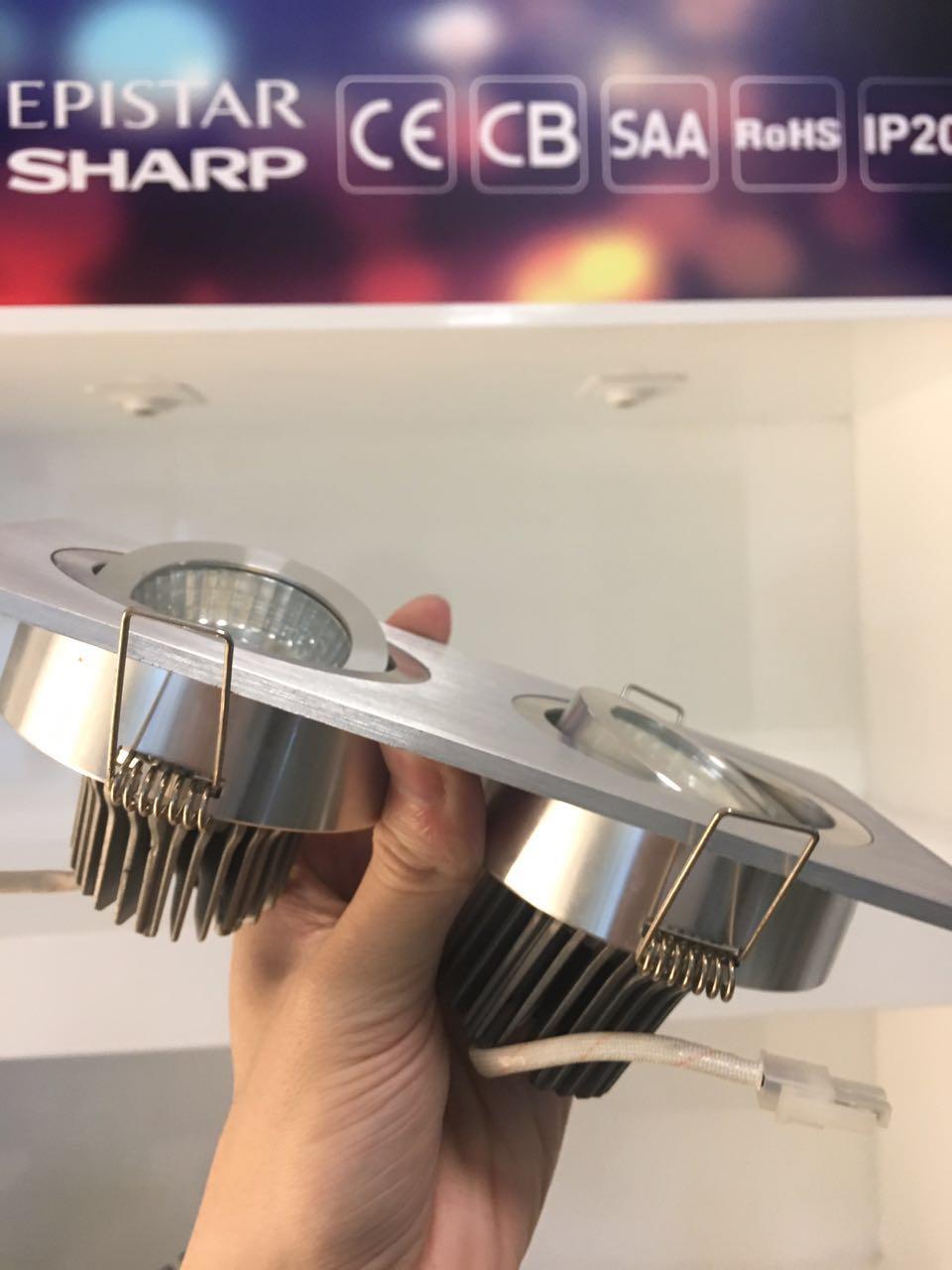 High Purity Aluminum Reflector Aluminum Alloy 2 12W COB LED Grille Light
