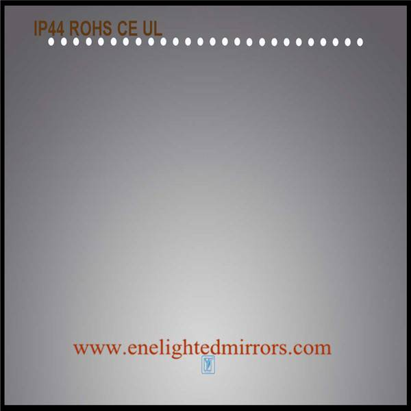 Bathroom mirror light produced by ENE LIGHTED MIRRORS from China accepted oem odm