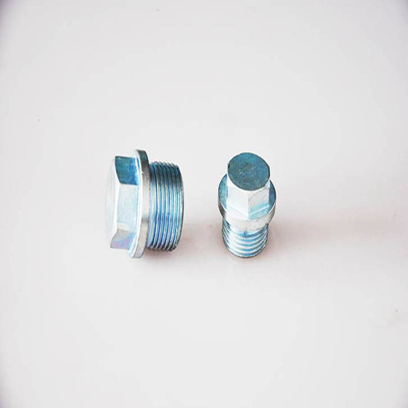Hex flange screw