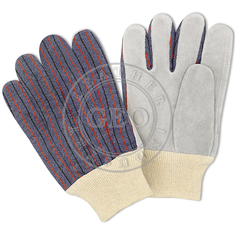 Working Safety Cheap Price Leather Gloves