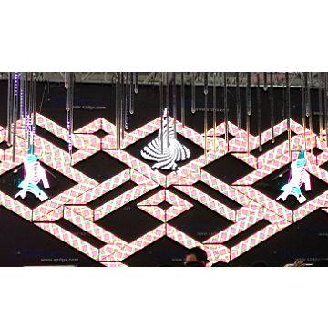 Special shape LED video wall indoor P5