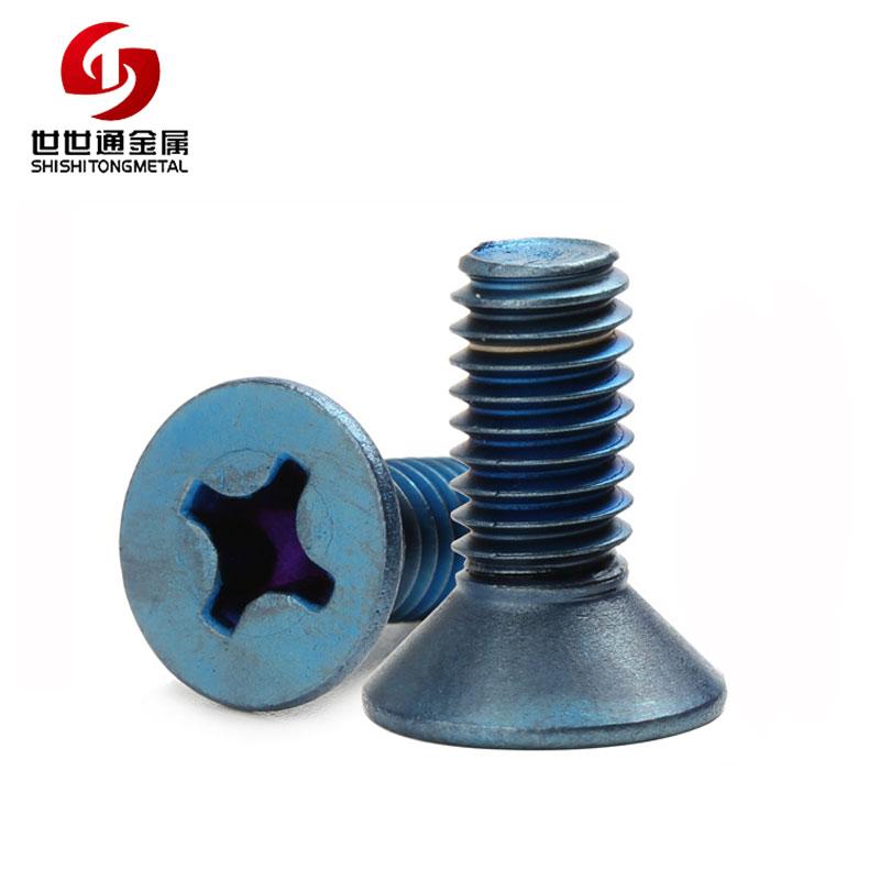 titanium flat head screws