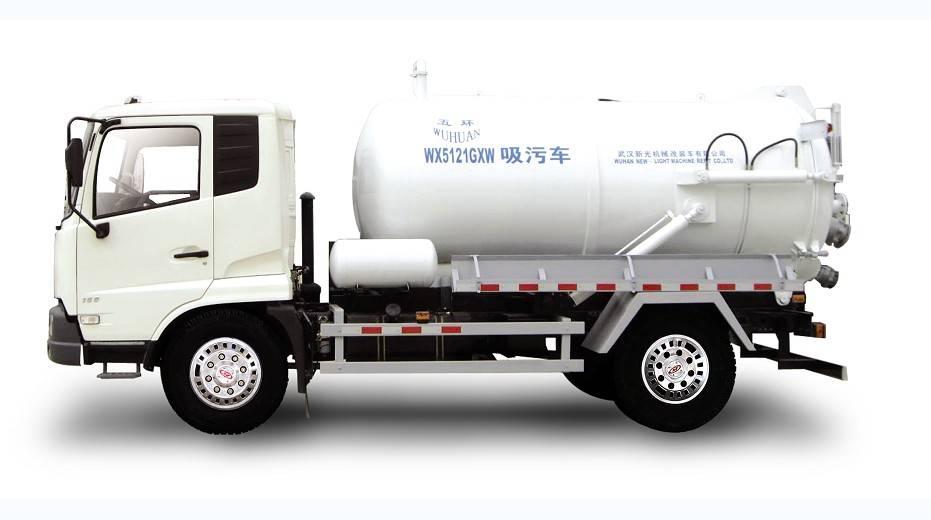 WX5121GXW Sewage suction trucks,Sewer suction truck