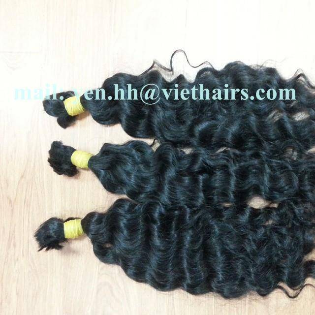 DOUBLE DRAWN WAVY REMY HAIR