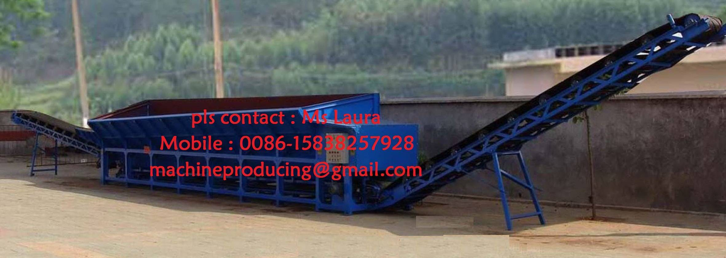 Singel roller wood debarker , double roller wood debarking , wood debarking machine