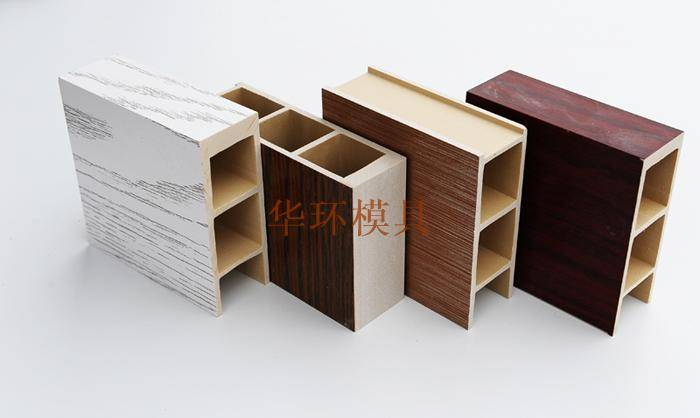 Wood plastic foaming plate samples