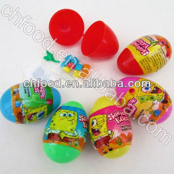 Candy Toy China---Surprise Egg Toy Candy With Tattoo