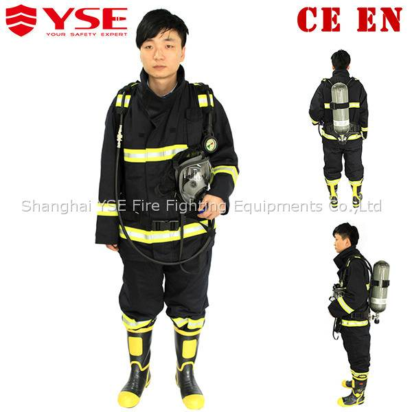 EN469 safety firefighting suit