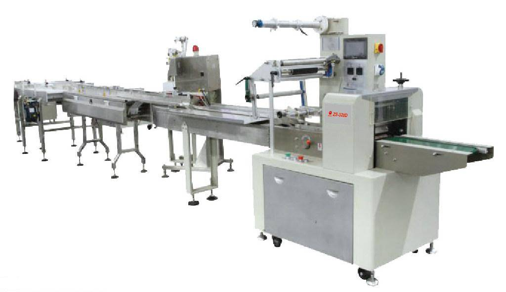 Automatic Mooncake Feeding & Packing Line