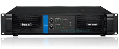 Double Channel Professional Power Amplifier FP Series 350W to 1300W at 8 Ohms
