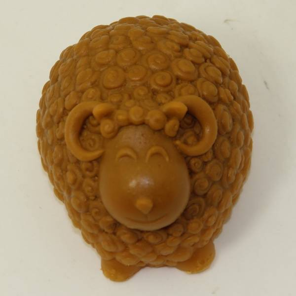 3D Curly Sheep Silicone Molds Handmade Chocolate Soap Cake Mold Silicon Mould AA001