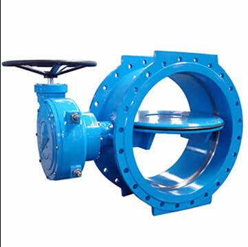 Double Flanged Type Concentric Butterfly Valve