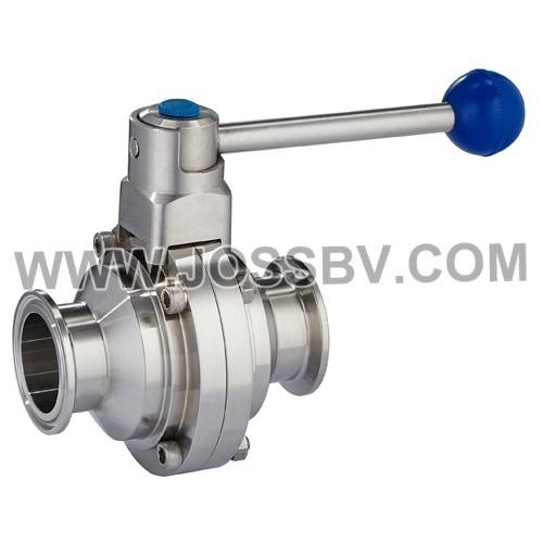 Sanitary Butterfly Type Ball Valve