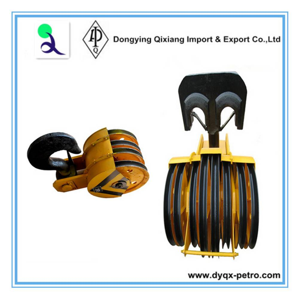 INSTOCK!Traveling Block and Hook used on oil and gas well drilling rigs