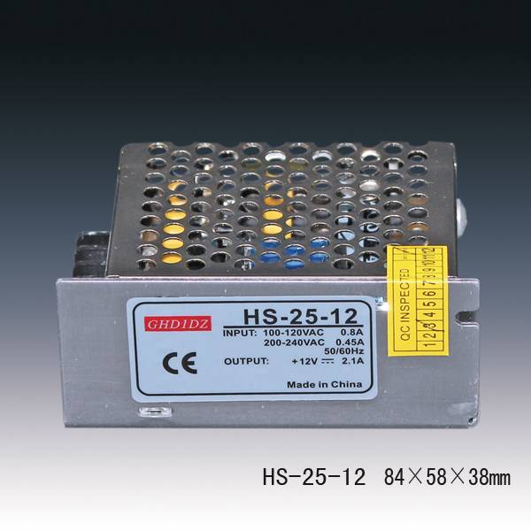 12v 2a LED Power Supplies 24w Switching power supplies for LED Lighting Applications