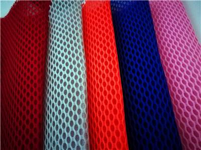 polyester shoe lining sandwich air mesh fabric