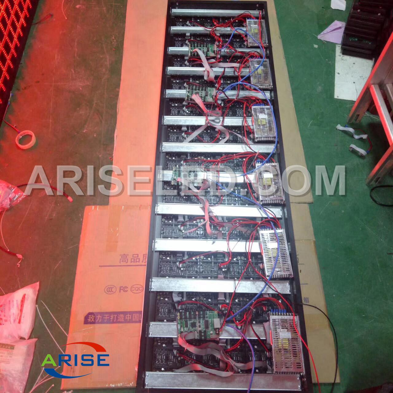 Single Color/Bicolor/RGB P7.62 P10 P20 LED Module Red/White(32x16/32x32/64x32),P10 LED Module